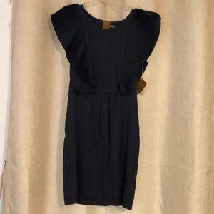 Ali Ro Navy mid length dress